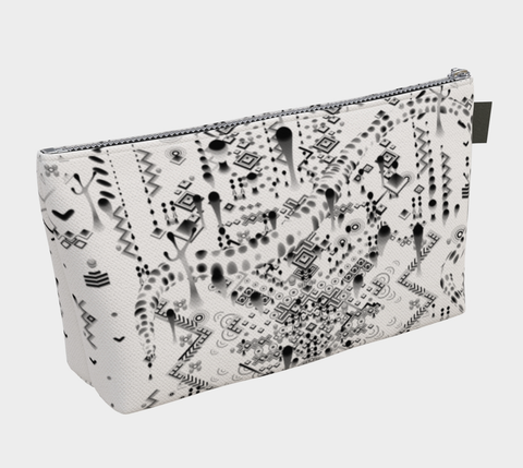 WHITE MYSTIC MOVE MAKEUP BAG | TAS