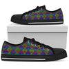 Colorful Interactions Low Top Shoes | PatternNerd