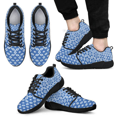 Image of HEX BLUE MENS SNEAKERS | PSYPEPPER