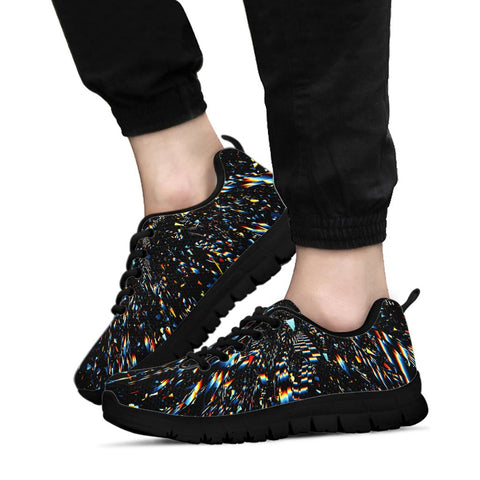ColorDust Black Sneakers