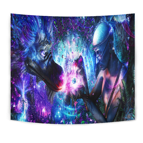 Image of A spirits silent cry Tapestry | Cameron Gray