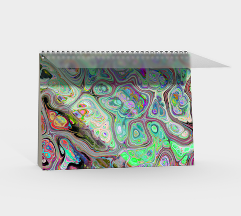 Color Splash Spiral Notebook