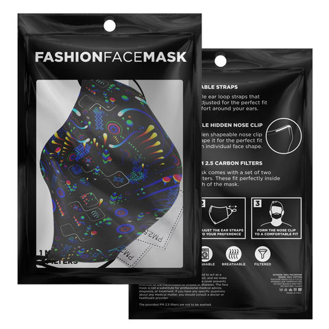 TAS - STEPS FACE MASK