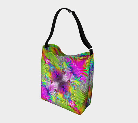 Image of Unique Colorful Day Tote by ROBERT HRUSKA