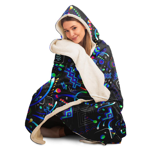 FABRIC HOODED BLANKET | TAS