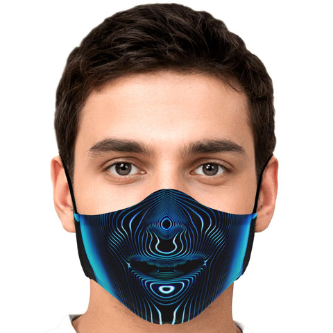 Voice Face Mask by PatternNerd