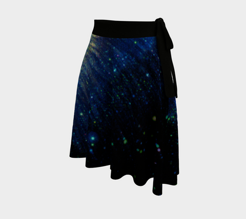 Helix Nebula Wrap Skirt by PatternNerd