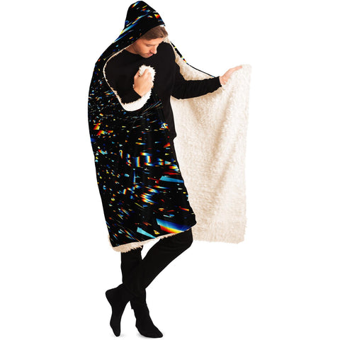 Stardust Hooded Blanket by HRUSKA