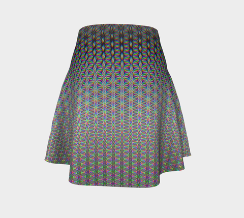 Flower of Life Flare Skirt by PatternNerd