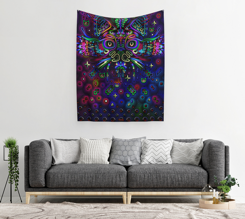 MYSTIC CAT TAPESTRY | TAS