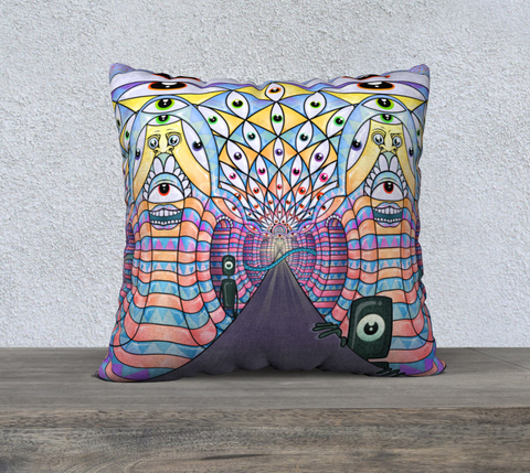 Image of ALGA - Welcome Back Cushion Cover