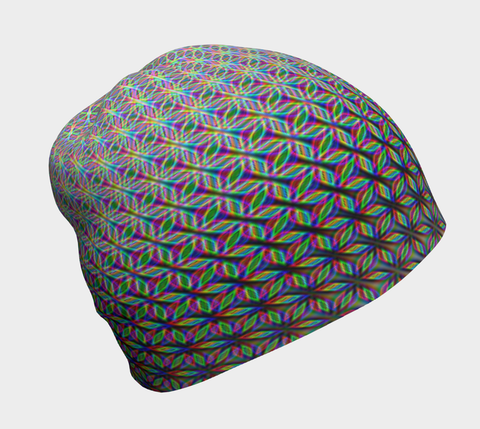 Flower of Life Beanie by PatternNerd