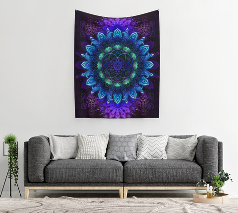 RAISING COLOR TAPESTRY