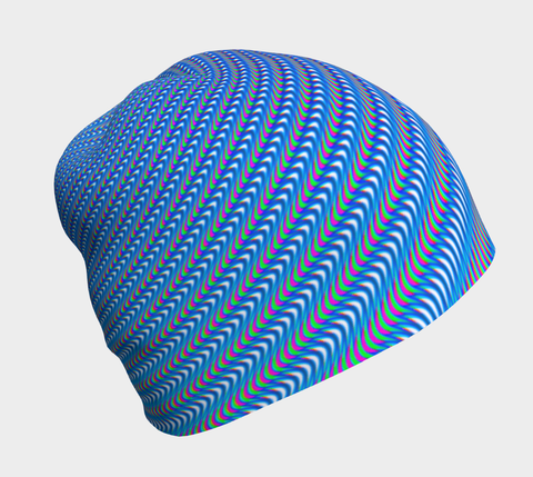Ribbed Ripples Beanie by PatternNerd