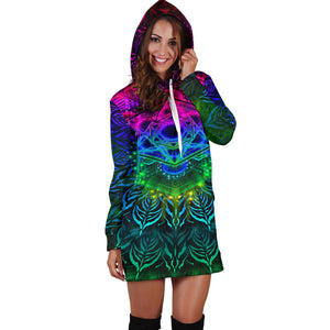 YANTRART WOMENS HOODIE DRESS | YANTRART
