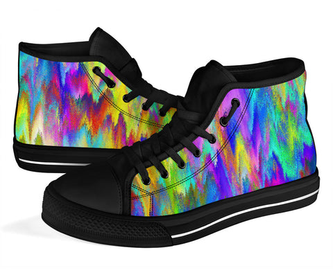 COLORFUL High Top Shoe