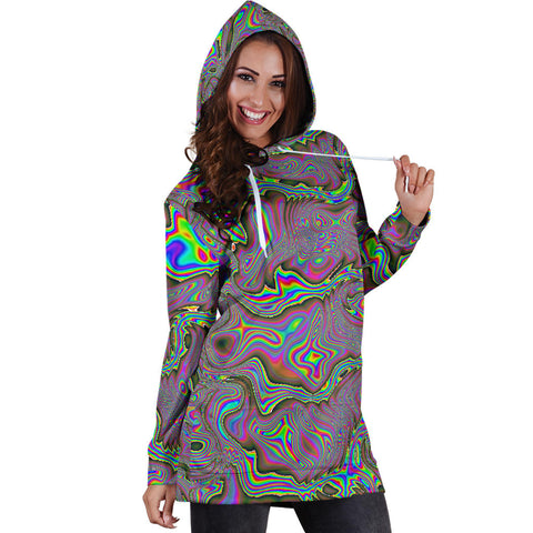 ACID Womens Hoodie Dress | HUBERT S