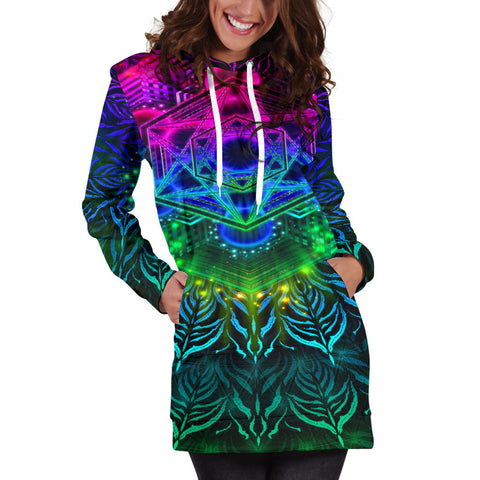 Image of YANTRART WOMENS HOODIE DRESS | YANTRART