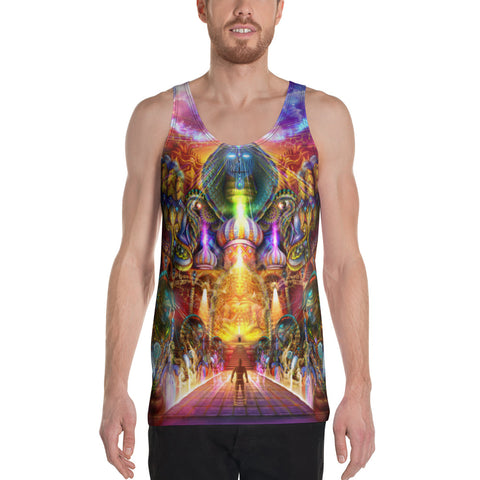AS WITHIN SO WITHOUT Unisex Tank Top | HAKAN HISIM