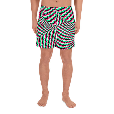 Image of HUBERT S | VISUALS Men's Athletic Long Shorts