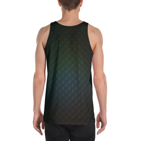 Get High Iridescent Scales Unisex Tank Top by PatternNerd