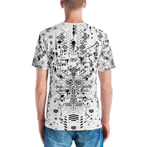 MYSTIC MOVE WHITE Men's T-shirt