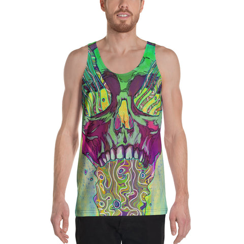 Image of MANA SKULL Unisex Tank Top