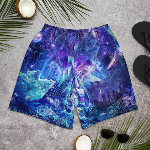 Image of CAMERON GRAY | TRANSCENSION Men's Athletic Long Shorts