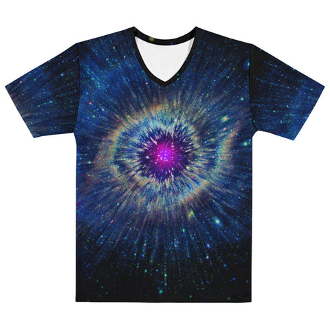 Helix Nebula Men's T-shirt by PatternNerd