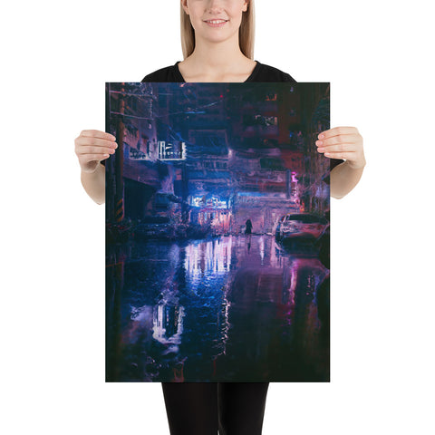 WET CITY Poster