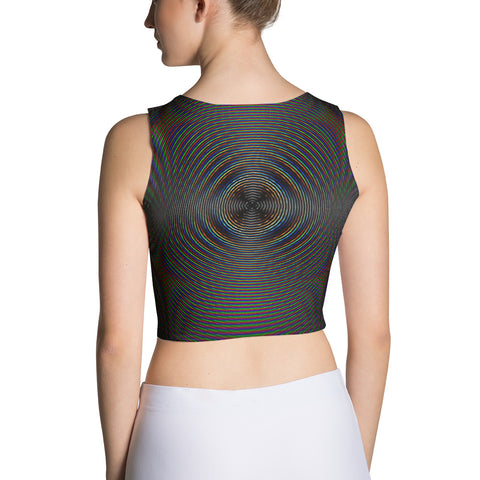 Dark Radiation Crop Top by PatternNerd