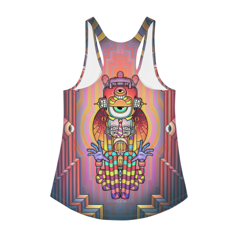 ALGA - Knick, Knack (all over) Women's Racerback Tank