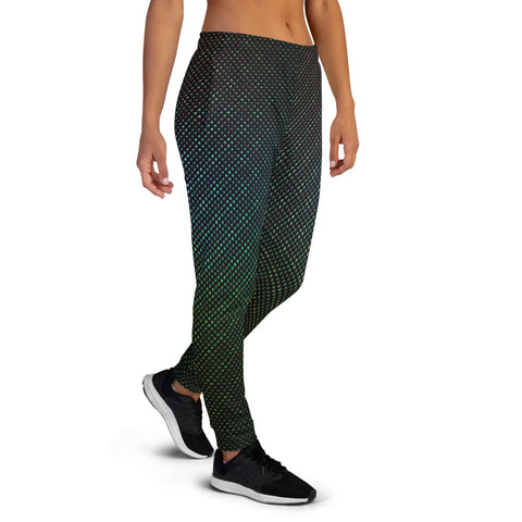Image of High Iridescent Scales Women's Joggers by PatternNerd