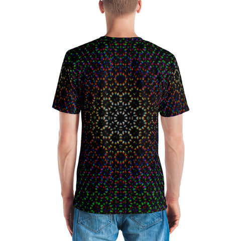 Dark Rainbow Stones Men's T-shirt by PatternNerd
