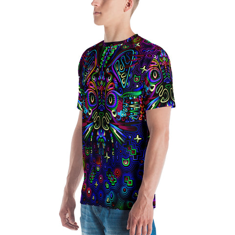 Trippy Cat Men's T-shirt