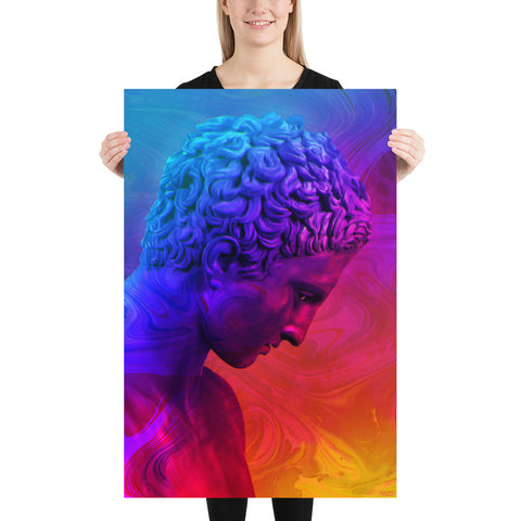Image of Vibrant Statue Poster