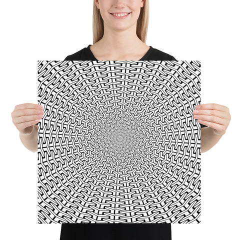 Image of Hexagon Poster