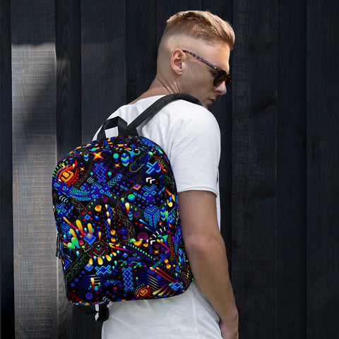 Image of Fabric Backpack