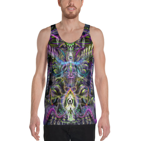 Image of SPICE MUST FLOW Unisex Tank Top | HAKAN HISIM