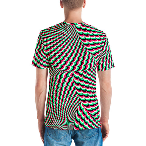 Image of PSYCHEDELIC SWIRL Men's T-shirt