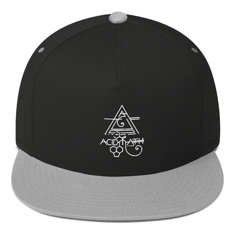 ACIDMATH WHITE Flat Bill Cap