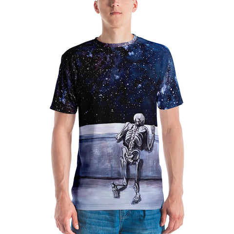 SKELETON SPACE Men's T-shirt