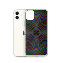 Dark Radiation iPhone Case by PatternNerd