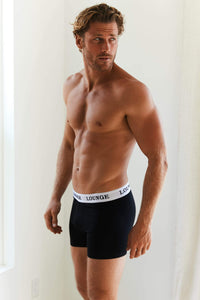 Black Boxers Three-Pack