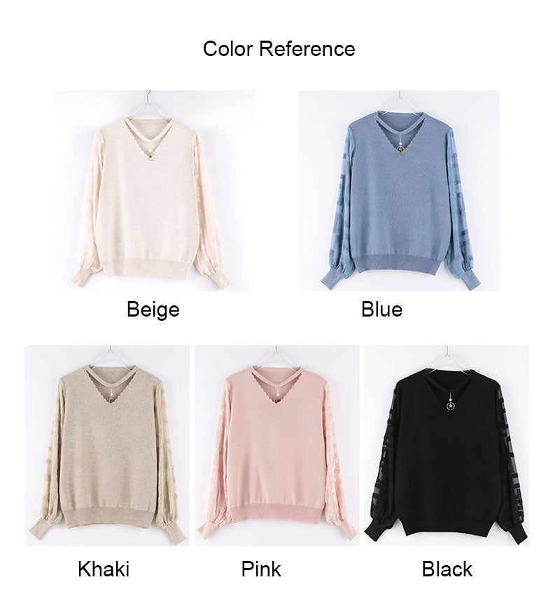 Women Spring Thin Pullovers Tops Fashion Knitted Summer 2020