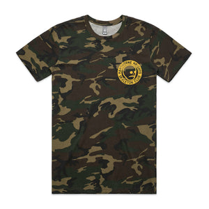 Hawthorne Heights Skeleton Club - Camo T-Shirt
