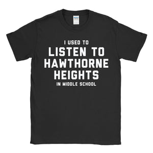 Hawthorne Heights - Middle School T-Shirt Black