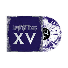 Load image into Gallery viewer, If Only You Were Lonely XV Hoodie w/ White and Purple Swirl LP + Digital Download