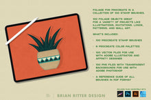 Load image into Gallery viewer, Foliage for Procreate - Brian Ritter Design