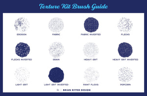 Texture Kit for Procreate - Brian Ritter Design